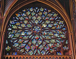 Medieval Gothic Art Glass