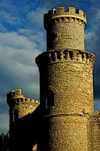 Castle Turret on a Tower