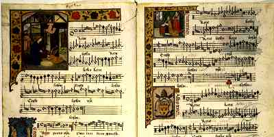 Medieval Songs Barbireau Illum