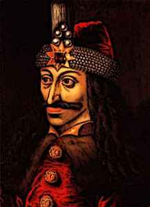 King Vlad the impaler portrait