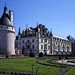 Medieval French Chateau Chenonceau