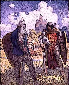 Lancelot-King-Bans-son-of-Benwick-and-knight-of-the-Round-Table